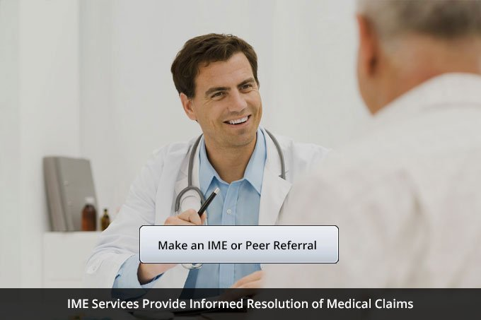 IME, Peer and Bill Review Services