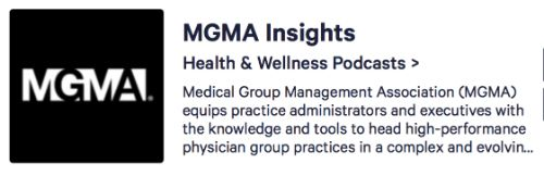 MGMA Insights Podcast