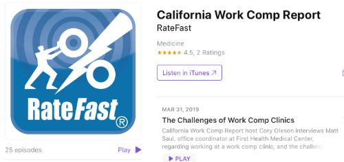 California Work Comp Report
