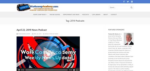 WorkCompAcademy Weekly News Update