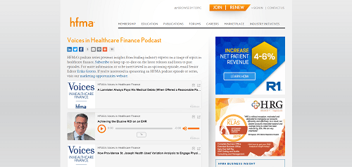 Voices In Healthcare Finance