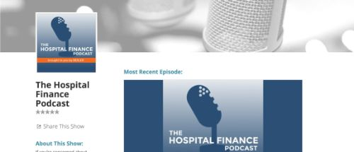 The Besler Hospital Finance Podcast