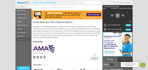 Inside Medicare's New Payment System Podcasts